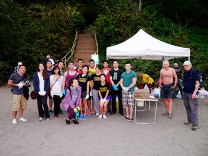 Volunteers from CVC