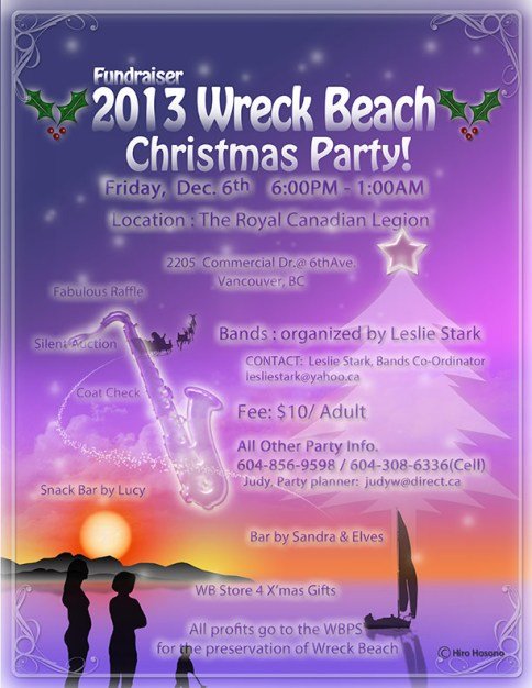 2013Wreck Beach Christmas Party