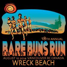 Wreck Beach Bare Buns Run 2014