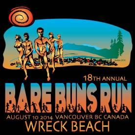 Wreck Beach Bare Buns Run 2014