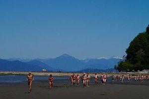 2014 Wreck Beach Bare Buns Run