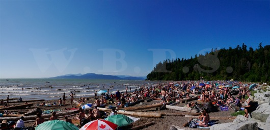 2015 Canada Day on Wreck Beach