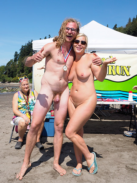 Wreck Beach Bare Buns Run 2015-winner