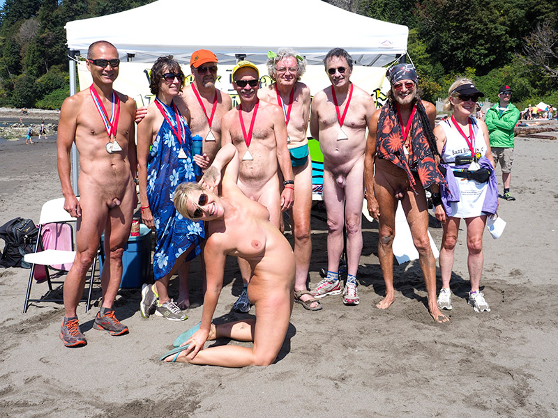 Wreck beach nudist happiness has