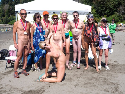 Wreck Beach Bare Buns Run 2015-7