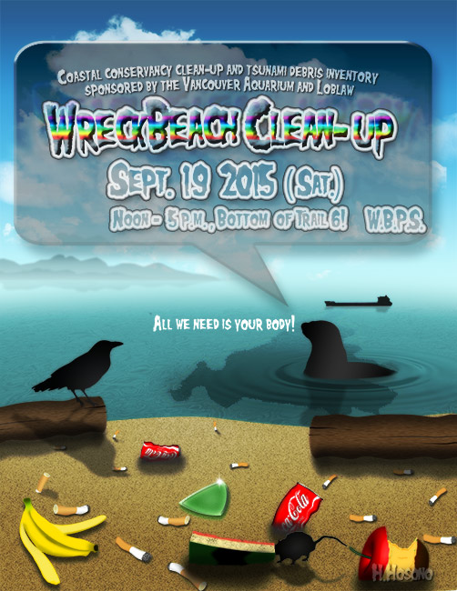 Wreck-Beach-Clean-up-day-2015